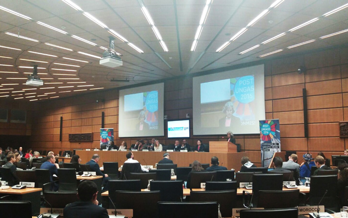 The United Nations Commission on Narcotic Drugs (CND) in Vienna (Austria)