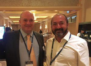 Augusto Nogueira, president of IFNGO (left) and Rui Martins