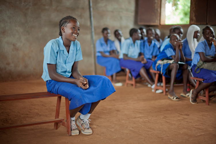investing in the education of girls