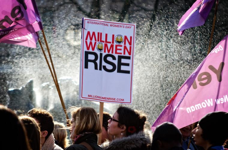 Million Women Rise Rally