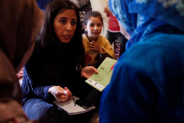 Soporte a mujeres y jovenes sirianas a riesgos de violencias o matrimonios forzados
