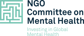 NGO Committee on Mental Health logo
