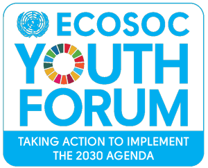 Ecosoc Youth Forum logo