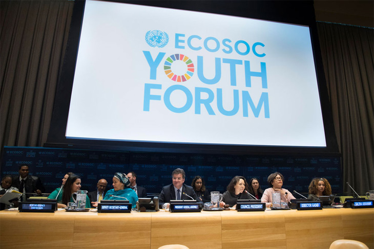 ECOSOC youth forum opening