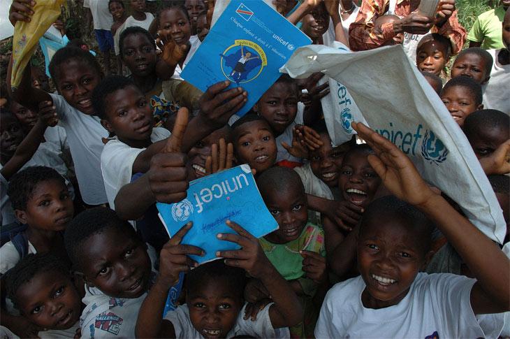 UNICEF Back to School programm in Congo