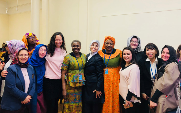 Group photo at the CSW62