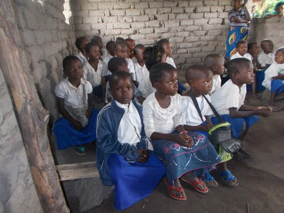 Girls' education in Congo