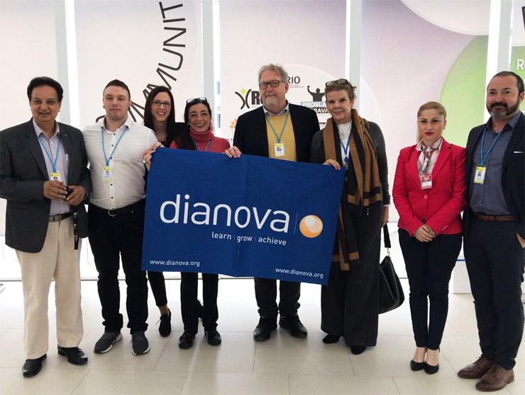 Representatives of Dianova members