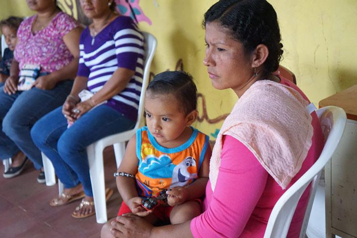 Madre y hija en Nicaragua