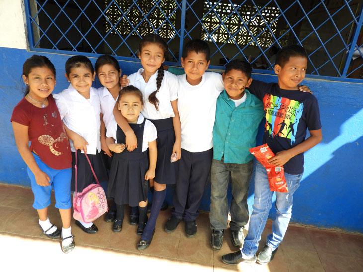 Niños y niñas de Nicaragua
