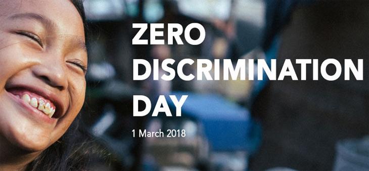 UNAIDS zero discrimination campaign
