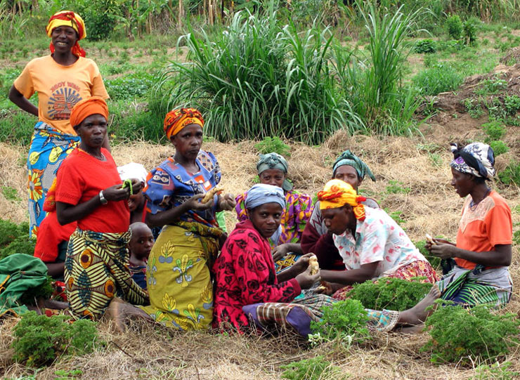 Rural women in Africa