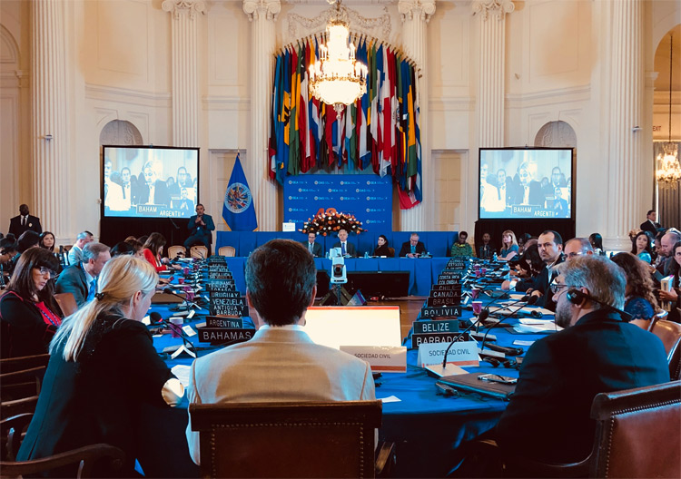 OAS General Assembly plenary session