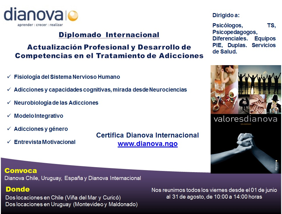 Dianova International diploma