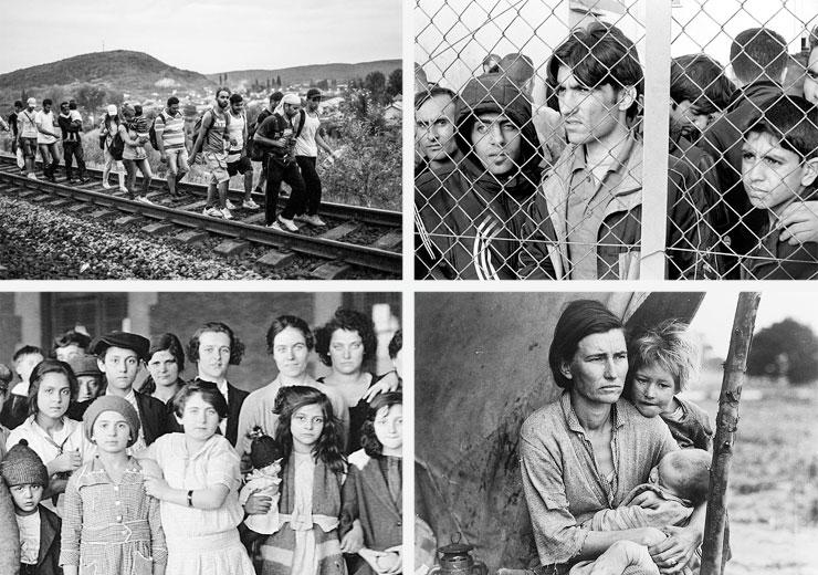 """Migrantes de ayer y de hoy"""""""