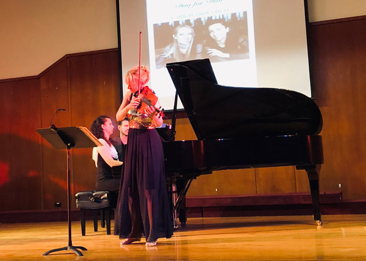 Concierto con la pianista Anna Petrova y la violista Molly Caar