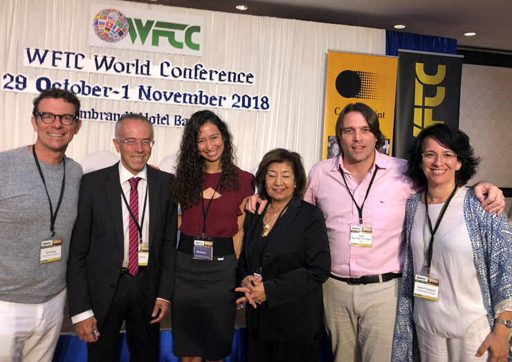 Participantes en la conferencia WFTC