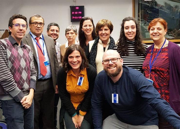représentants espagnols de la société civile