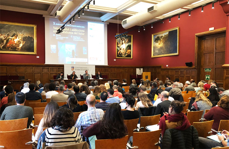 10th Drug Addiction Conference at the University of Barcelona