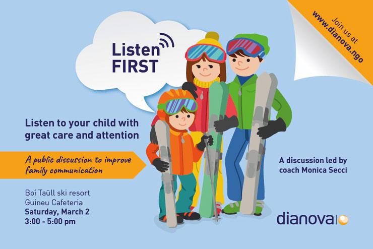 Listen First campaign