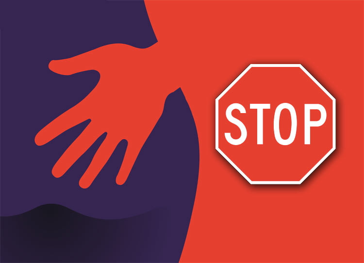 Stop sexual harassment at work