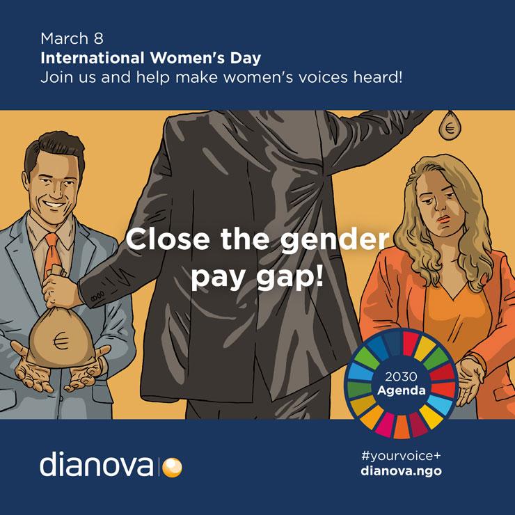 March 8 Dianova campaign