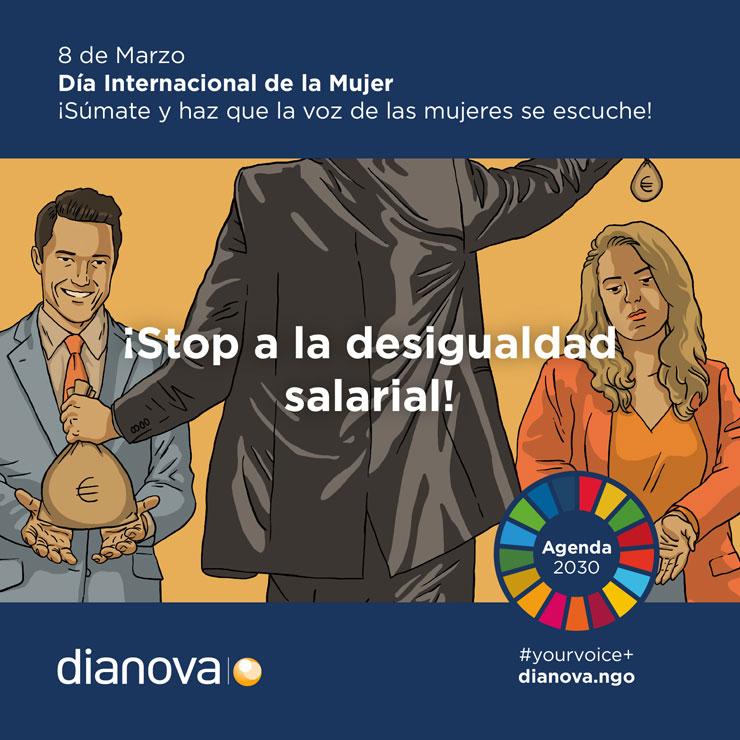 Campaña Dianova 8 de Marzo