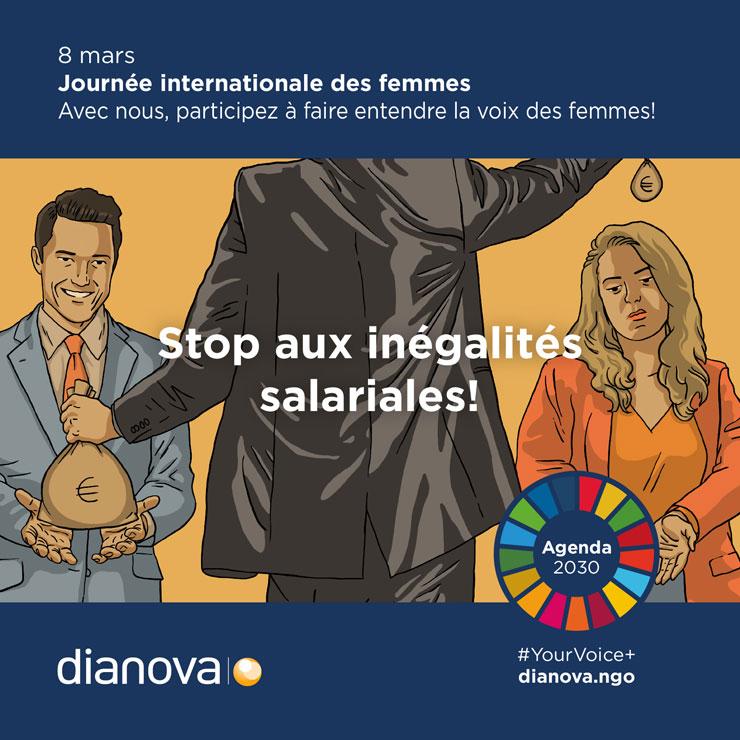 Campagne Dianova 8 mars