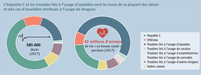 Causes des décès liés aux drogues