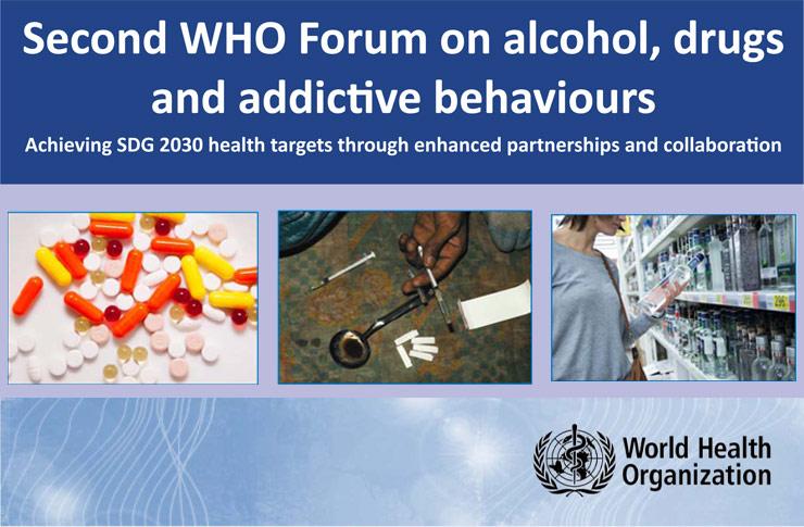 Segundo Foro de la Organización Mundial de la Salud sobre Alcohol, Drogas y Comportamientos Adictivos