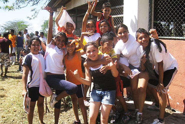 Ados au Nicaragua