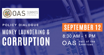 OAS - Money laundering and corruption