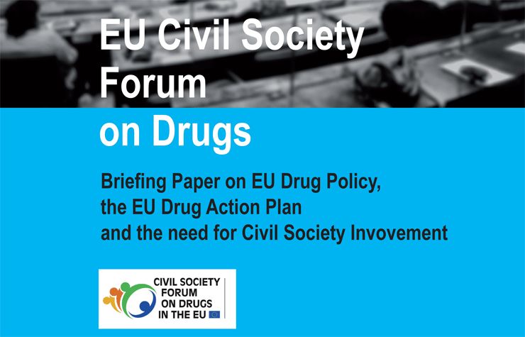 Briefing paper on EU drug policy
