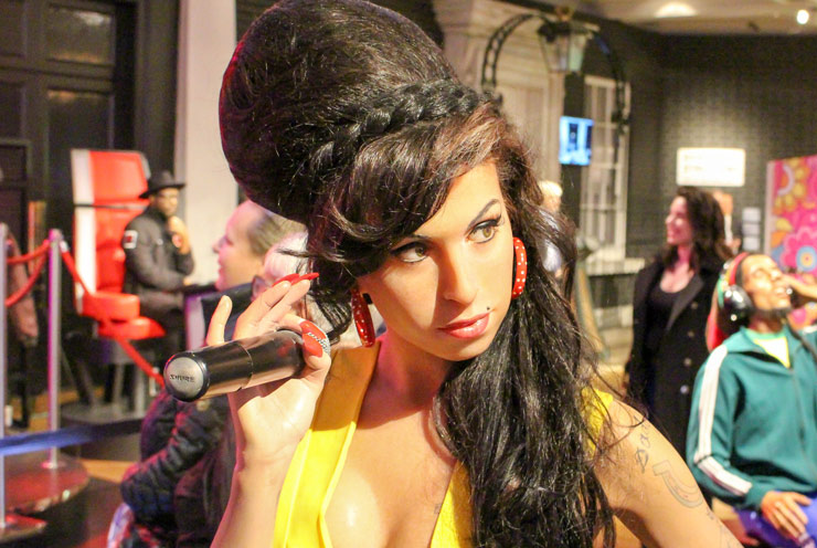 Amy Winehouse at Madame Tussaud's