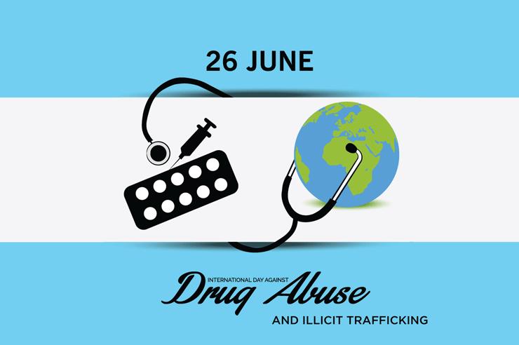 Journée internationale contre l'abus et le traffic illicite de drogues