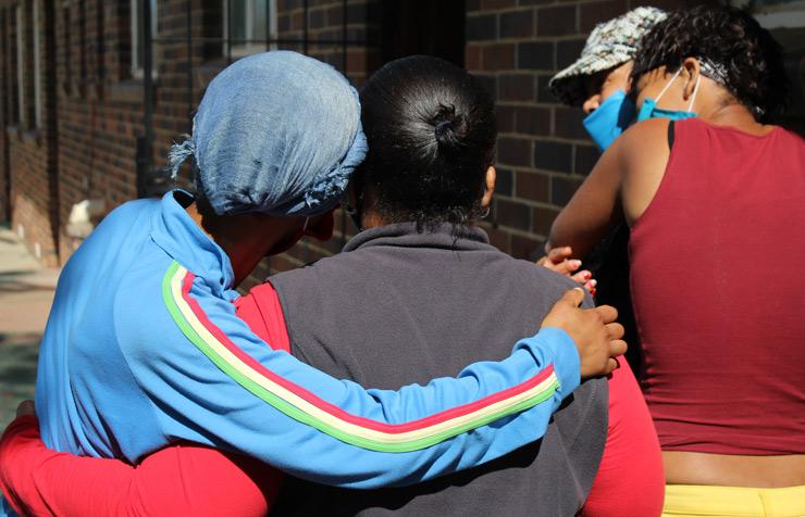 Survivors of gender-based violence