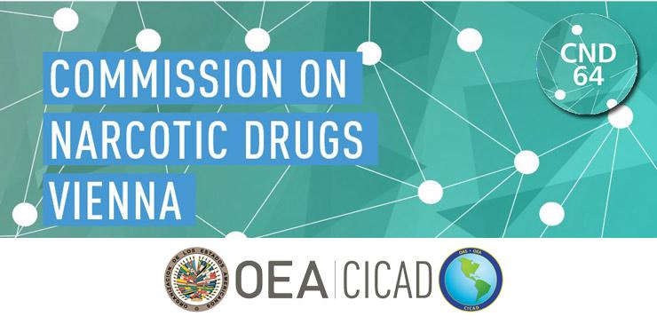 OEA/CICAD lors de la CND