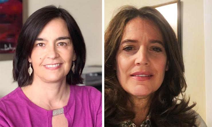Barbara and María Victoria